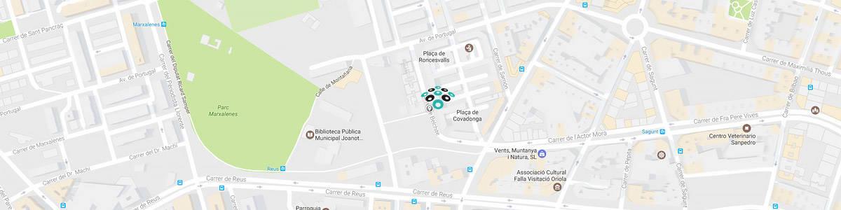 mapa arteplus - Contactar