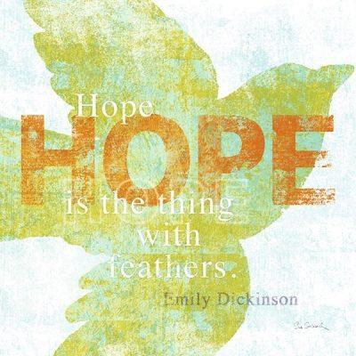 Letterpress - Hope