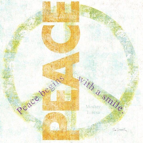 Letterpress - Peace