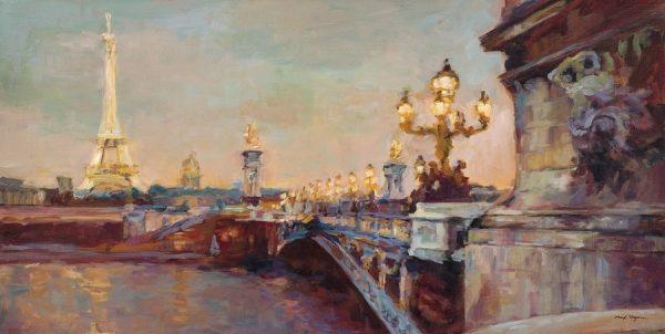 Parisian Evening Crop