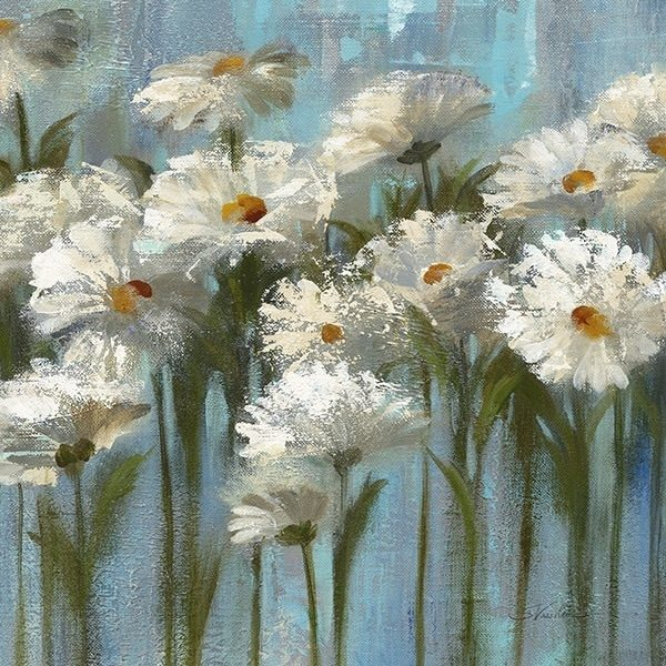 Daisies by the Lake