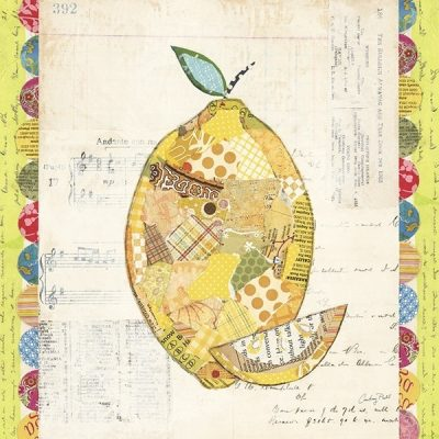 Fruit Collage II - Lemon