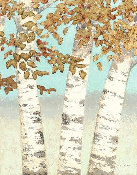 Golden Birches III