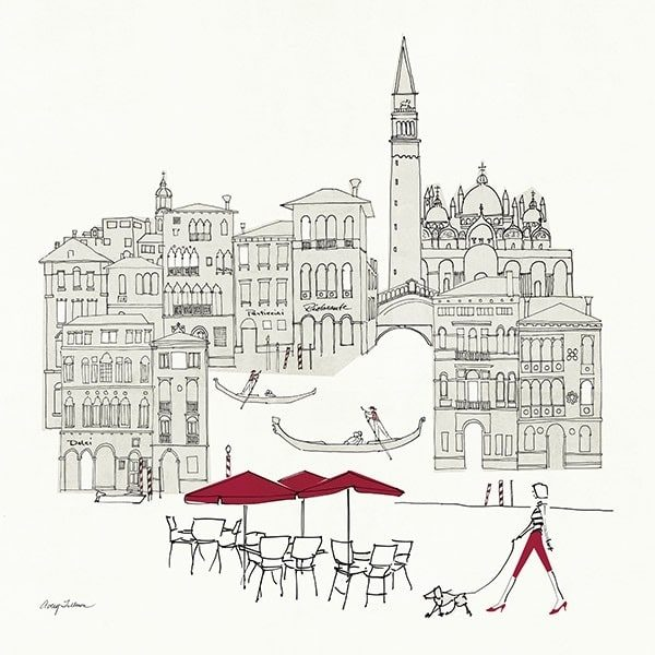 World Cafel IVVenice Red
