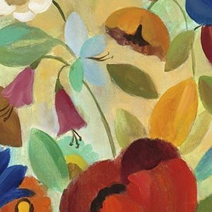 Summer Floral Panel II