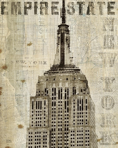 Vintage NY Empire State