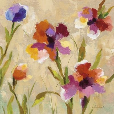 Bold Bright Flowers III