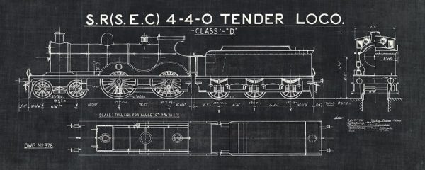 Train Blueprint II Black