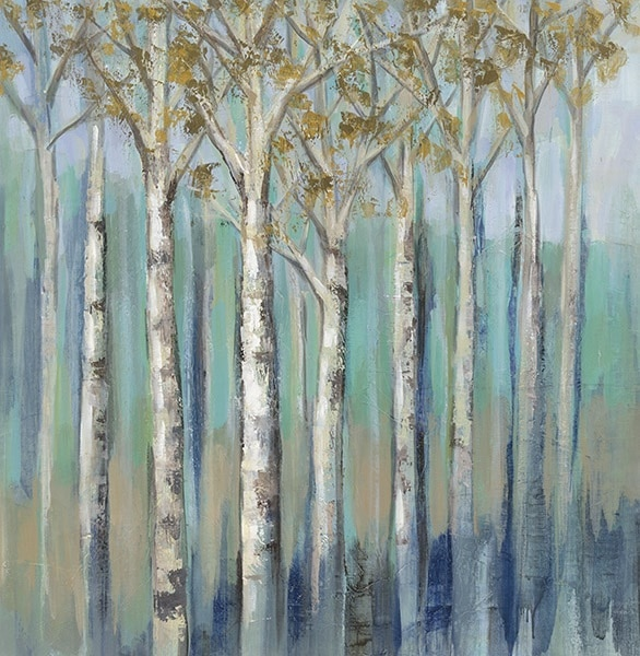 Birches at Dawn