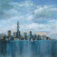 Manhattan Tower of Hope 32.5x32.5