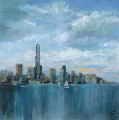 Manhattan Tower of Hope 32.5x32.5