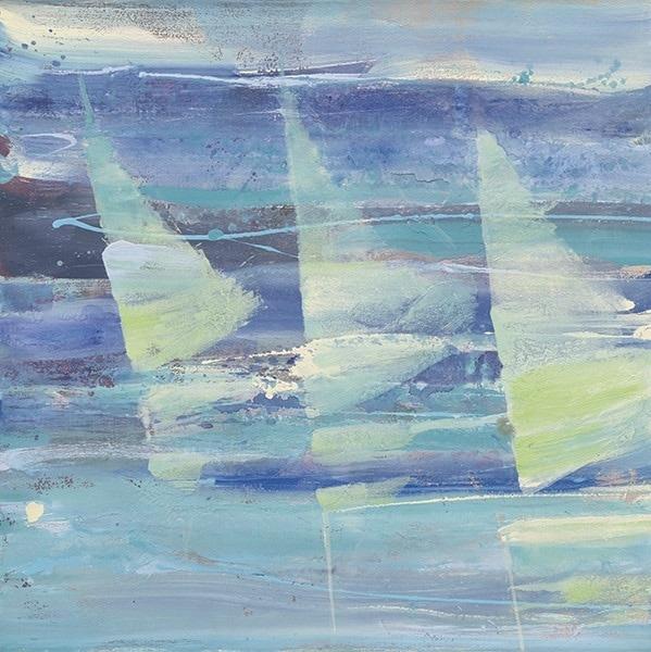 Summer Sail I 18x18