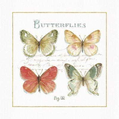 Rainbow Seeds Butterflies III