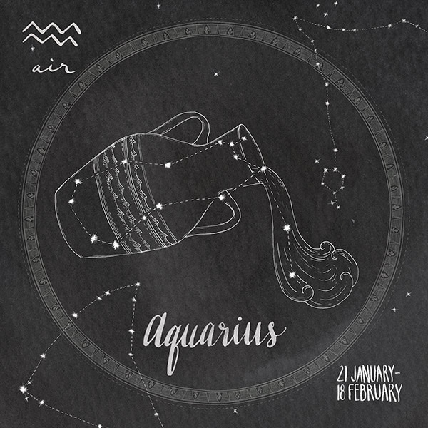 Night Sky Aquarius