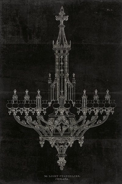 Ornamental Metal Work Chandelier