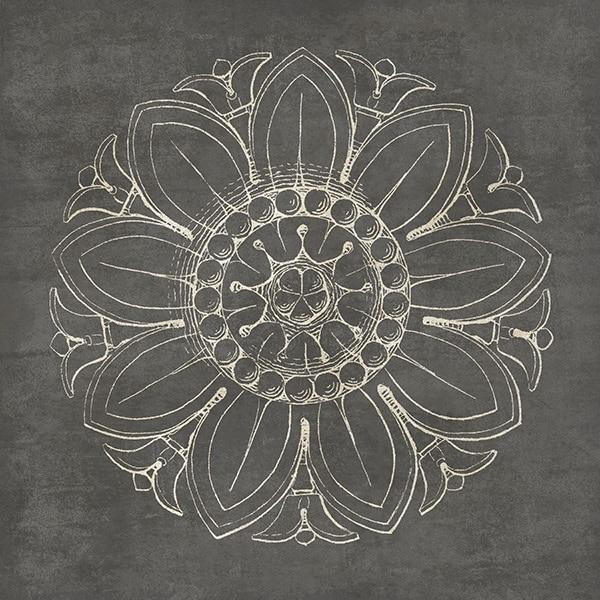Rosette VII Gray