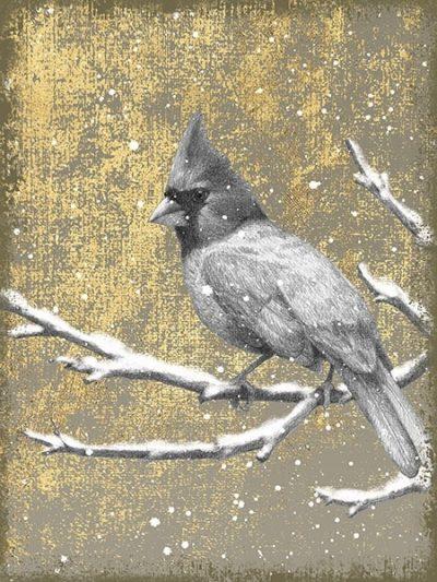Winter Birds Cardinal Neutral