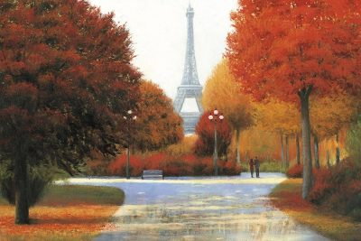 Autumn in Paris Couple