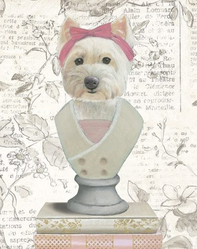 Canine Couture Newsprint II