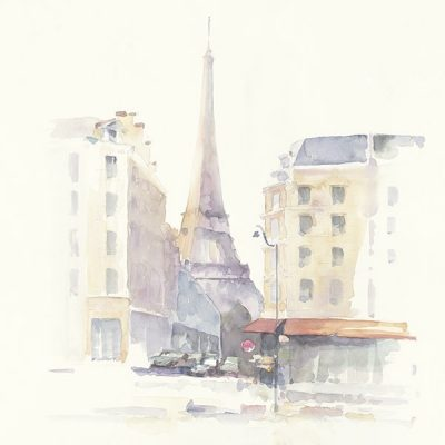 Paris Morning Square