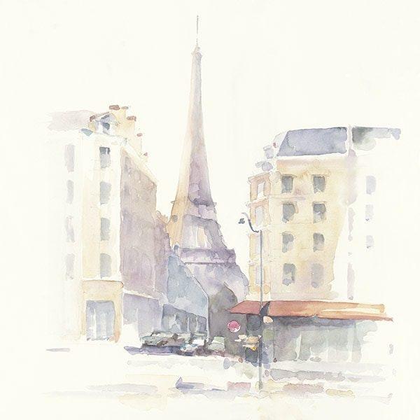 Paris Morning Square