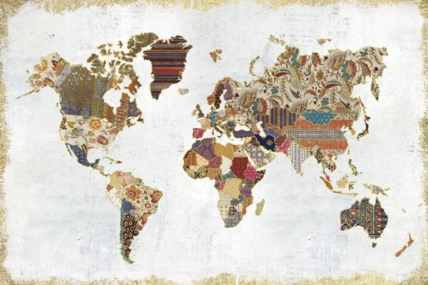 Pattern World Map