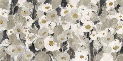 Velvety Florals Neutral