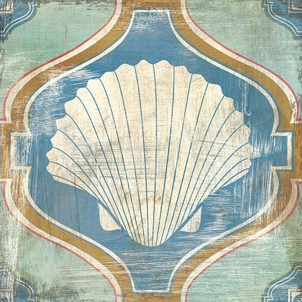 Bohemian Sea Tiles II