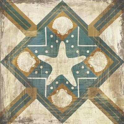Bohemian Sea Tiles IV