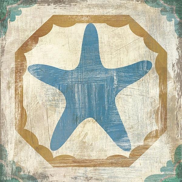 Bohemian Sea Tiles IX