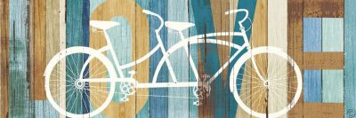 Beachscape Tandem Bicycle Love