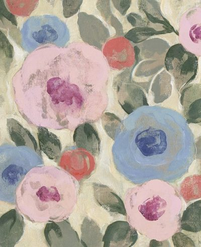 Parisian Floral II Pastel