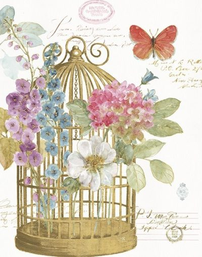 Rainbow Seeds Romantic Birdcage II