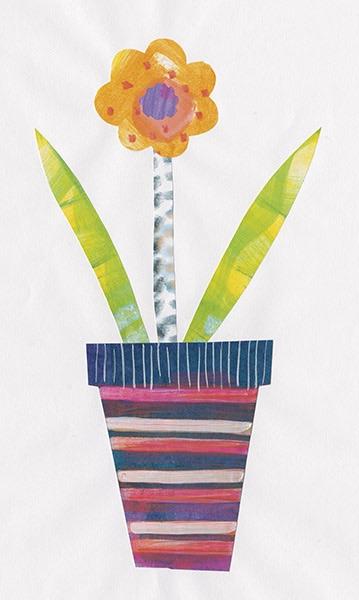Collage Flower II