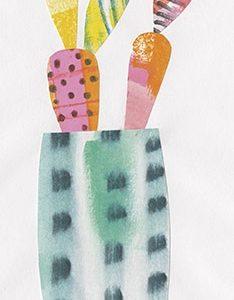 Collage Cactus I
