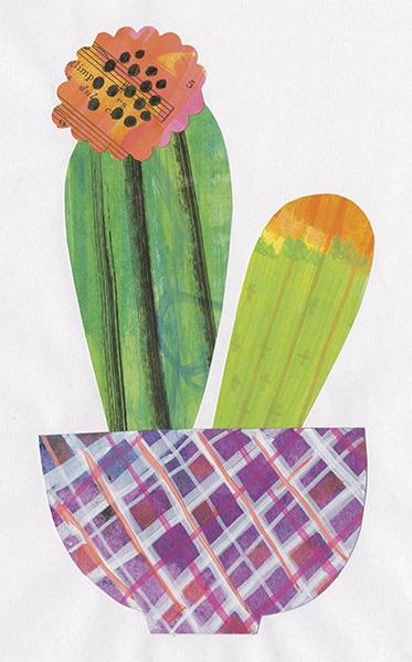 Collage Cactus II