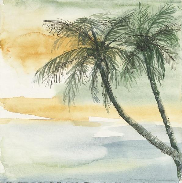 Island Sunset II