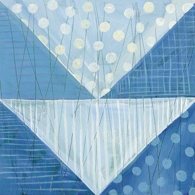Modern Americana IX Blue