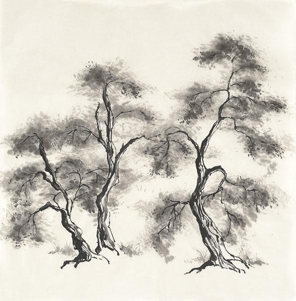 Sumi Tree III