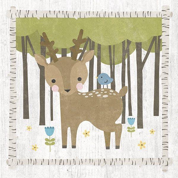 Woodland Hideaway Deer