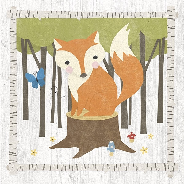 Woodland Hideaway Fox