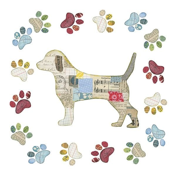 Good Dog IV Sq with Border