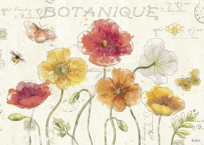 Painted Poppies I