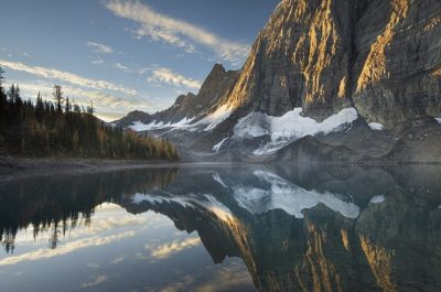 Floe Lake Reflection III