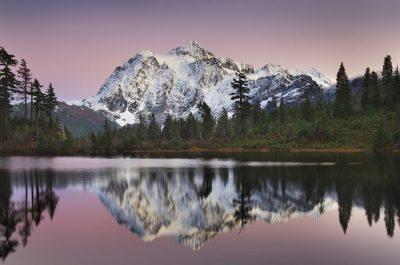 Mount Shukan Reflection II
