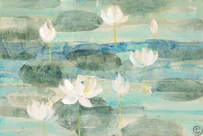 Water Lilies Bright