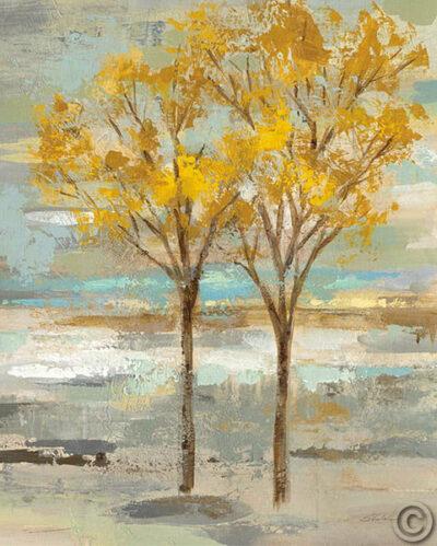 Golden Tree and Fog II