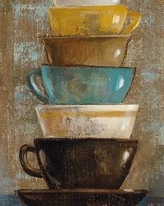 Antique Coffee Cups II