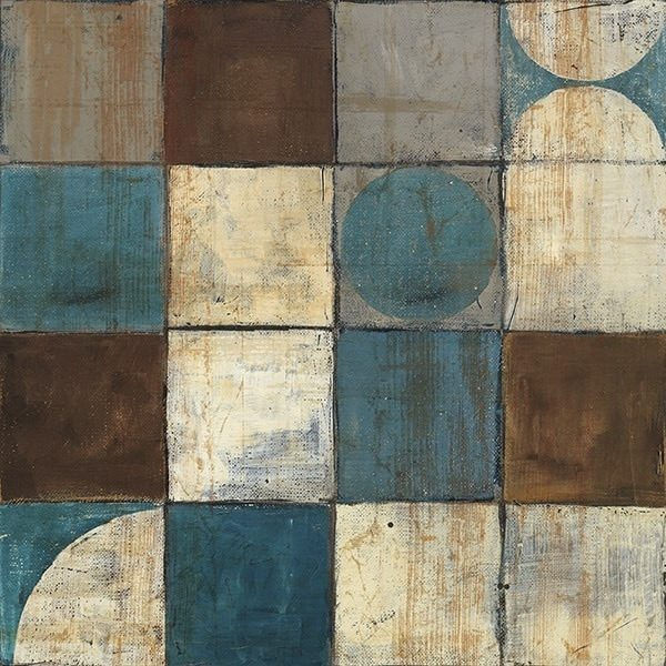 Tango Detail II - Blue Brown