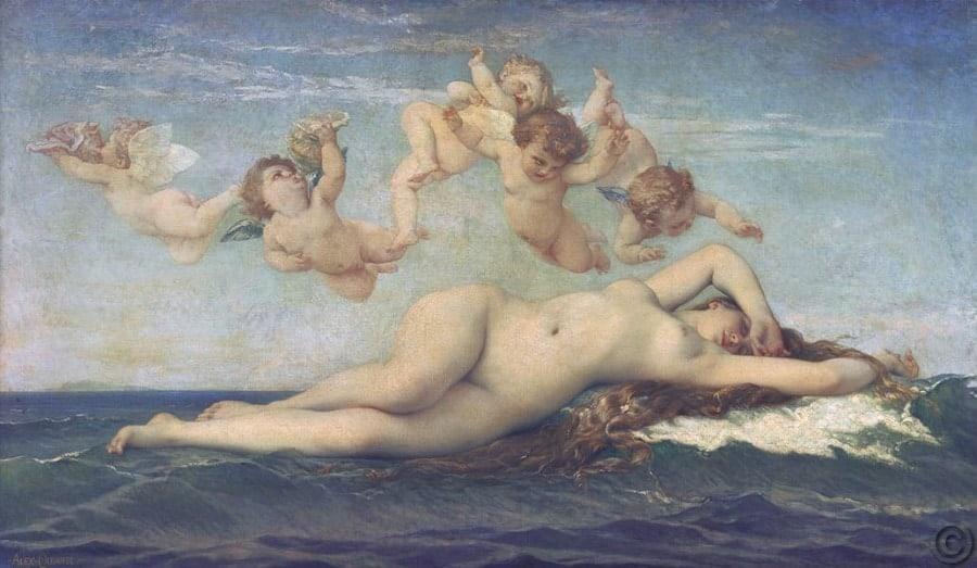 Birth Of Venus Nacimiento De Venus
